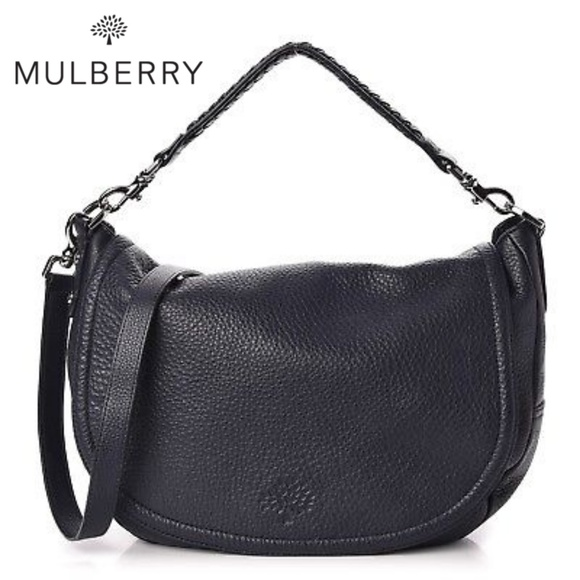 5a23f7362b 🆕NWOT Mulberry Leather Satchel Crossbody Bag